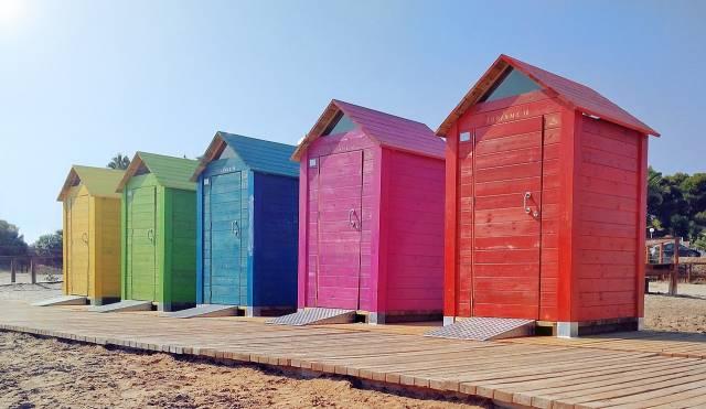 la cabine de plage l indispensable pour r ussir ses. Black Bedroom Furniture Sets. Home Design Ideas